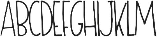 Oliver Light otf (300) Font LOWERCASE