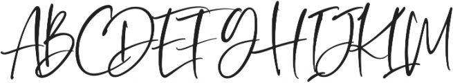 Oliver Notes otf (400) Font UPPERCASE