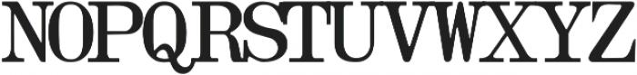 OlivettiTypewriter Regular ttf (400) Font UPPERCASE
