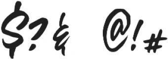 Olivia Script Font otf (400) Font OTHER CHARS