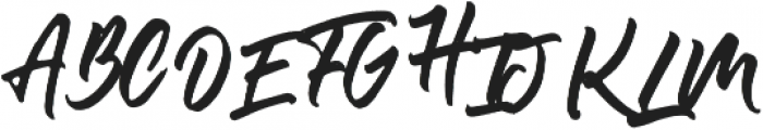 Olivia Script Font otf (400) Font UPPERCASE
