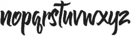 Olivia Script Font otf (400) Font LOWERCASE