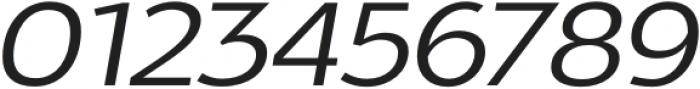 Oliviar Sans UltraLight Italic Expanded otf (300) Font OTHER CHARS