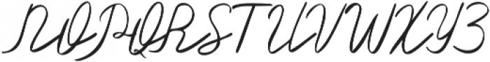 Olster otf (400) Font UPPERCASE