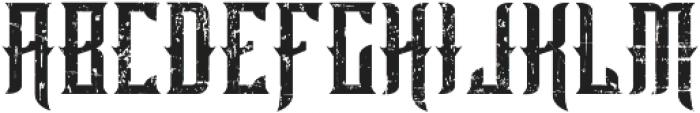 old bourbon otf (400) Font UPPERCASE