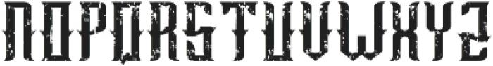 old bourbon otf (400) Font LOWERCASE