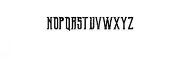 OldExcalibur-grunge.otf Font LOWERCASE