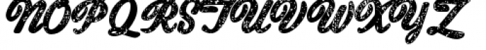 Old New England Font UPPERCASE