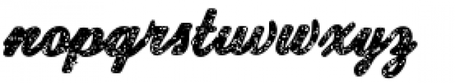 Old New England Font LOWERCASE