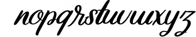 Ollson   Modern Style Typeface Font LOWERCASE