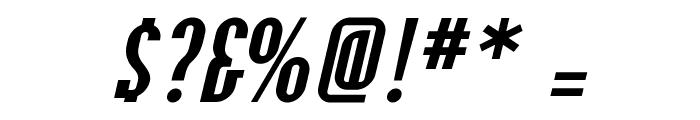 OLDNEW Slider Font OTHER CHARS