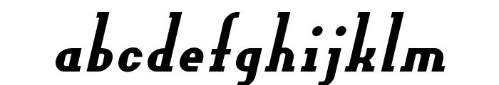 OLDNEW Slider Font LOWERCASE