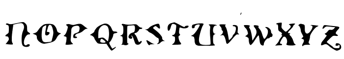 Ol' Wes' Rustik for PC Medium Font UPPERCASE