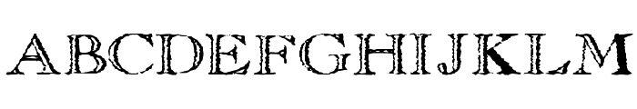 Old Copperfield Font UPPERCASE