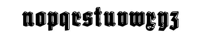 Old Deutschland Font LOWERCASE