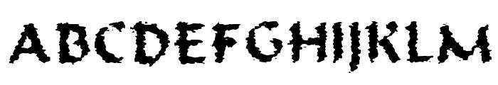 Old Oak Font UPPERCASE