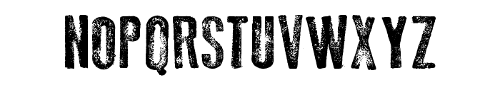 Old Press Font UPPERCASE