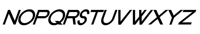 Old Republic BoldItalic Font UPPERCASE