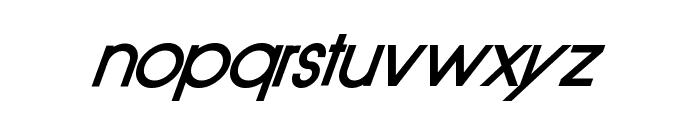 Old Republic BoldItalic Font LOWERCASE