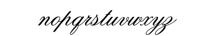 Old Script Font LOWERCASE