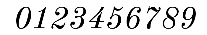 Old Standard Italic Font OTHER CHARS