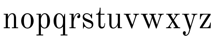 Old Standard Regular Font LOWERCASE