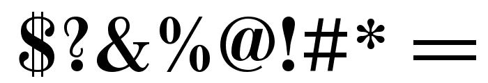 Old Standard TT Bold Font OTHER CHARS