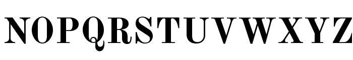 Old Standard TT Bold Font UPPERCASE