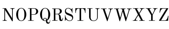 Old Standard TT Regular Font UPPERCASE