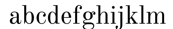 Old Standard TT Regular Font LOWERCASE