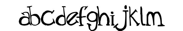 Old Time Villain Font LOWERCASE