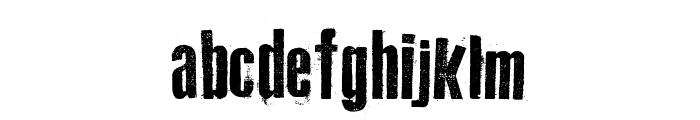 Old Typography Font LOWERCASE
