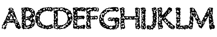Old Virus Font UPPERCASE