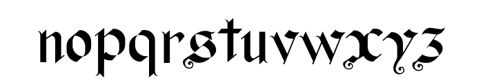 Old Wise Lord Font LOWERCASE