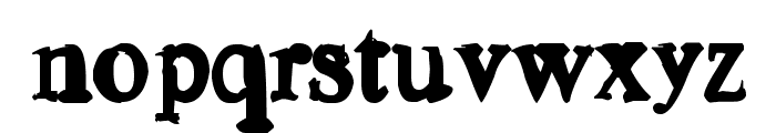Old news Font LOWERCASE