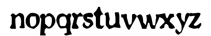 Old newspaper font Font LOWERCASE