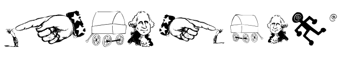 OldAmericanSymbols Font OTHER CHARS