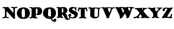 OldAntique Font UPPERCASE