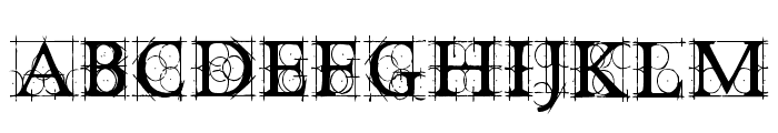 OldConstructedCaps Font UPPERCASE