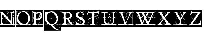 OldConstructedCaps Font LOWERCASE