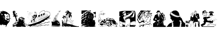 OldDrawingsOne Font LOWERCASE