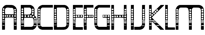 OldFolksShuffle Font LOWERCASE