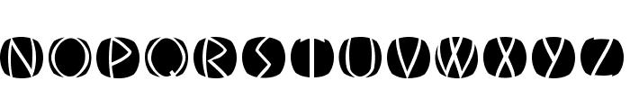 OldGreekButtons Font UPPERCASE