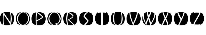 OldGreekButtons Font LOWERCASE