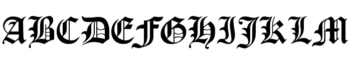 OldLondon Font UPPERCASE