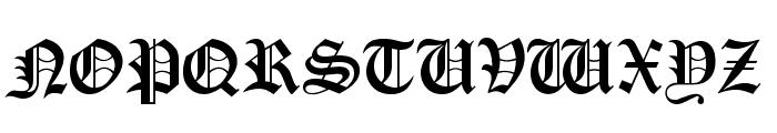 OldLondonAlternate Font UPPERCASE