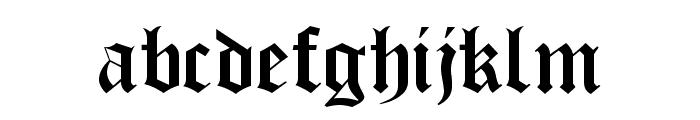 OldLondonAlternate Font LOWERCASE