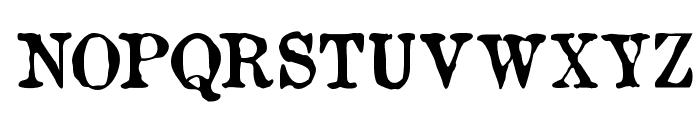 OldNewspaperTypes Font UPPERCASE