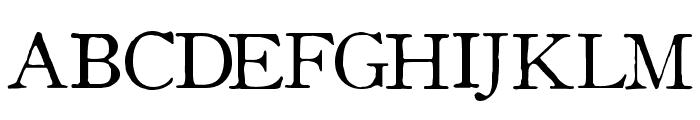 OldStyle 1 HPLHS Font UPPERCASE