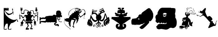 OldTribalSymbols Font OTHER CHARS